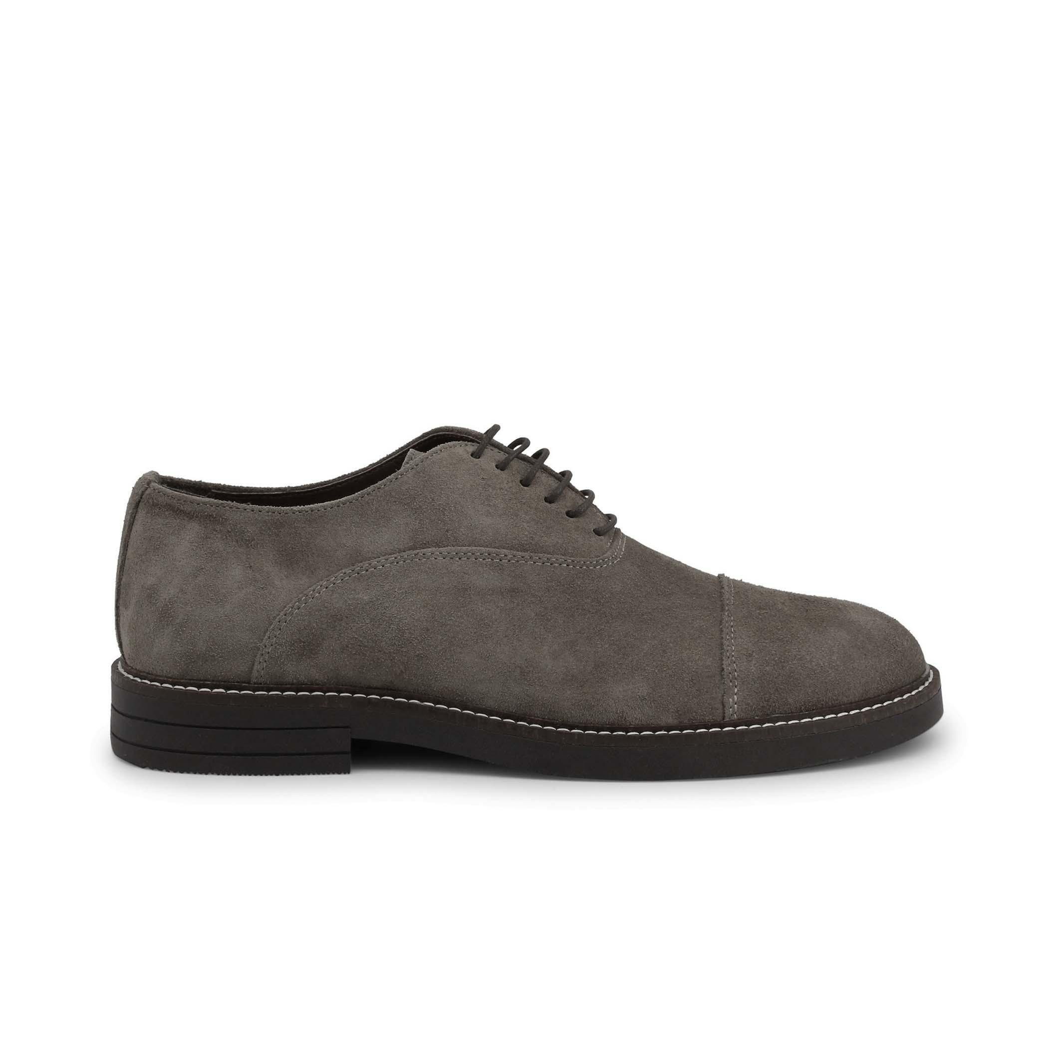Pantofi siret Duca Di Morrone 603_CAMOSCIO Maro