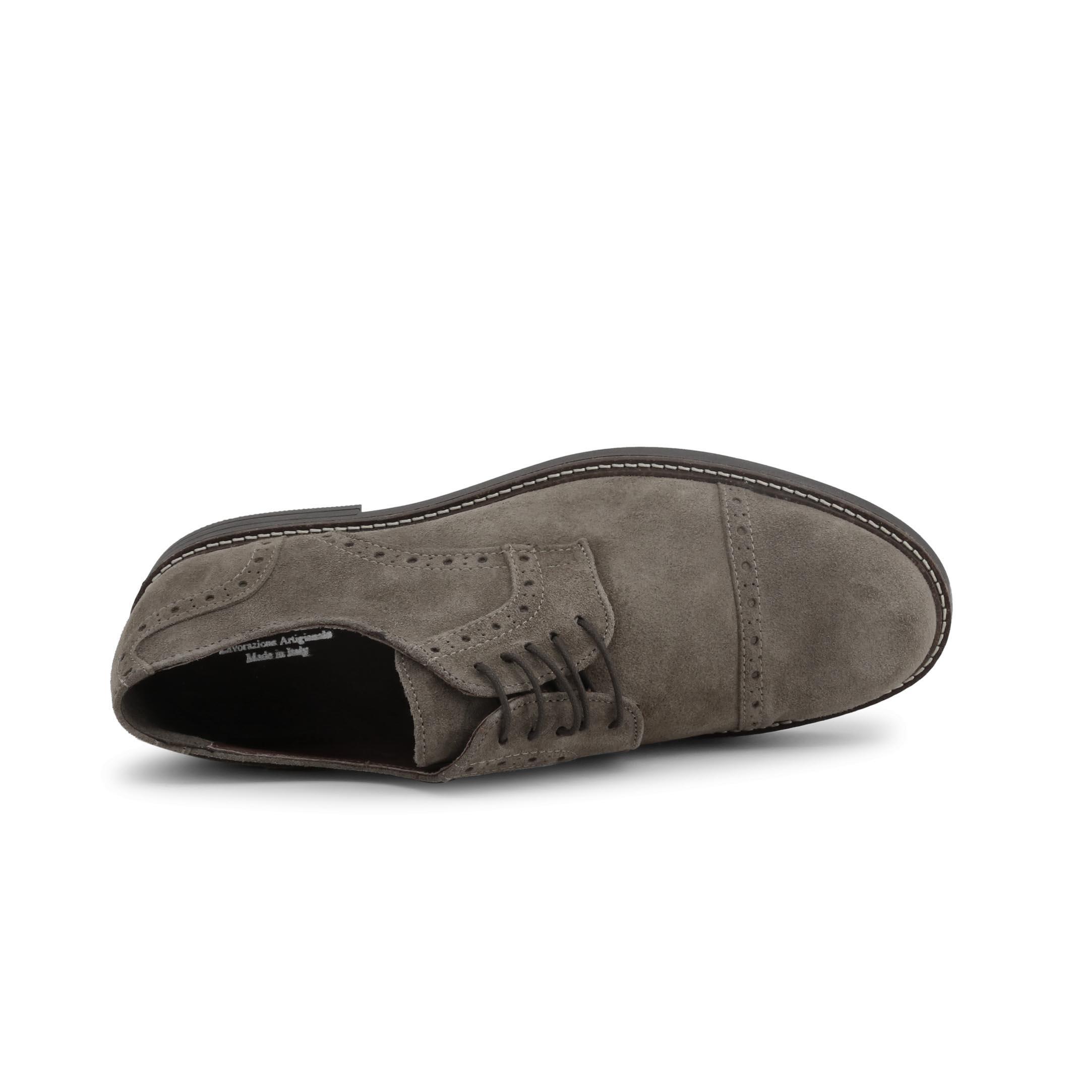 Pantofi siret Duca Di Morrone 607_CAMOSCIO Maro