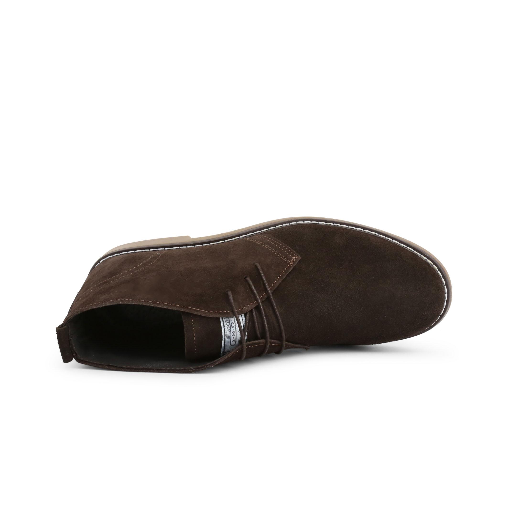 Pantofi siret Duca Di Morrone 233_CAMOSCIO Maro