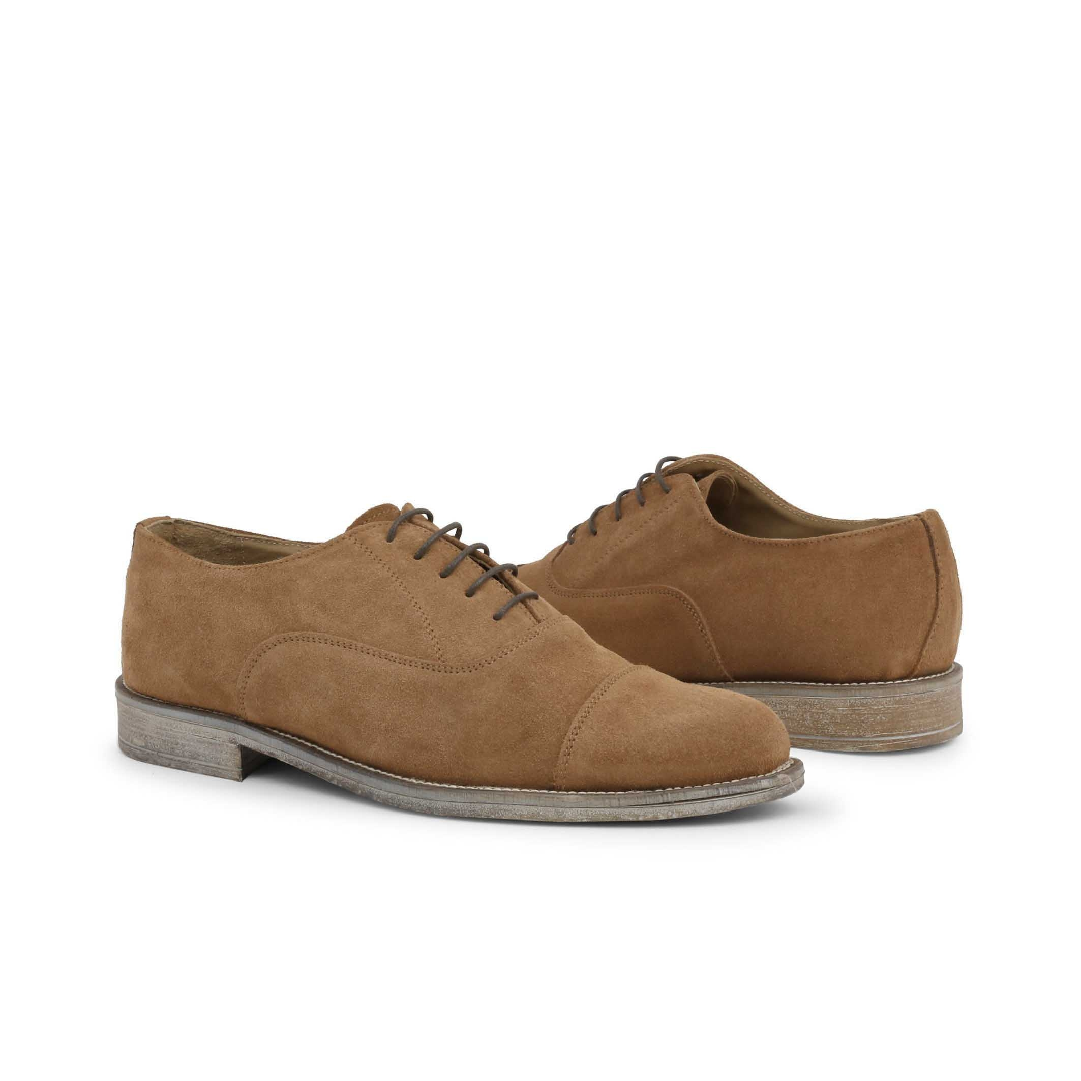 Pantofi siret Duca Di Morrone 1003_CAMOSCIO Maro