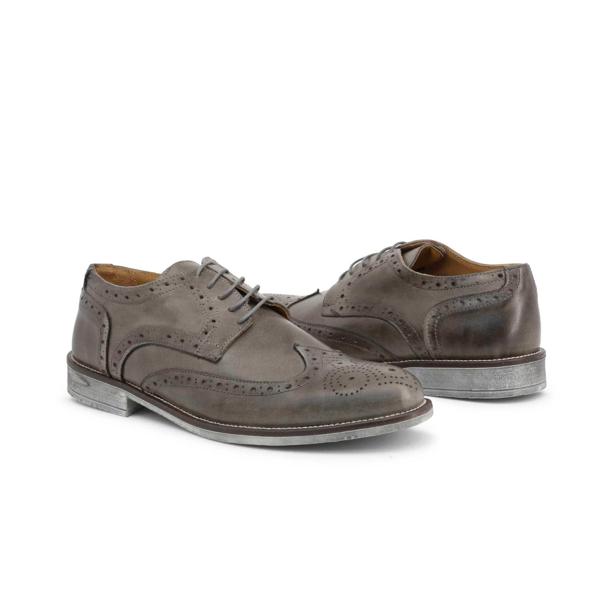 Pantofi siret Duca Di Morrone 208_CRUST Gri