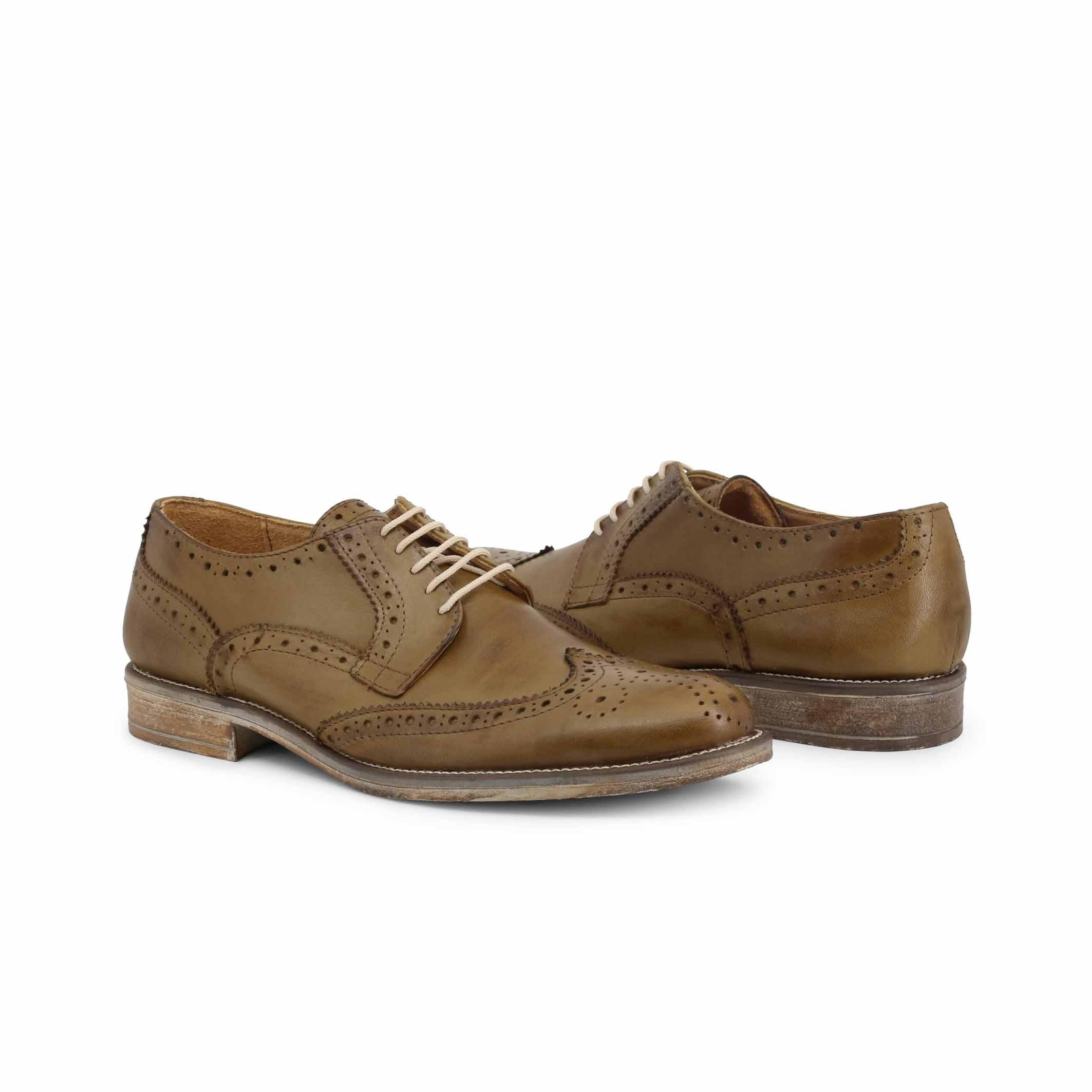 Pantofi siret Duca Di Morrone S2_CRUST Verde
