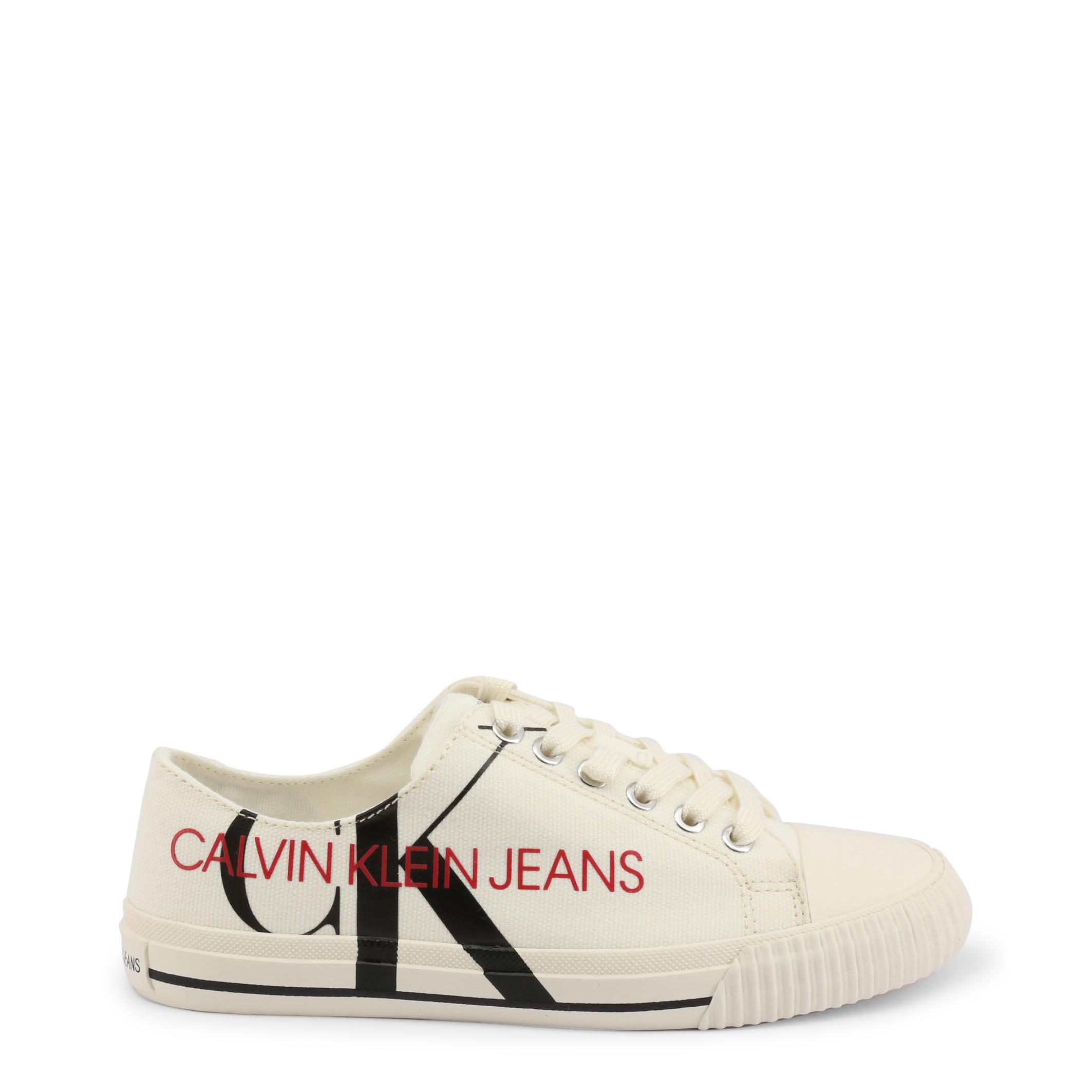 Pantofi sport Calvin Klein DEMIANNE_B4R0856 Alb