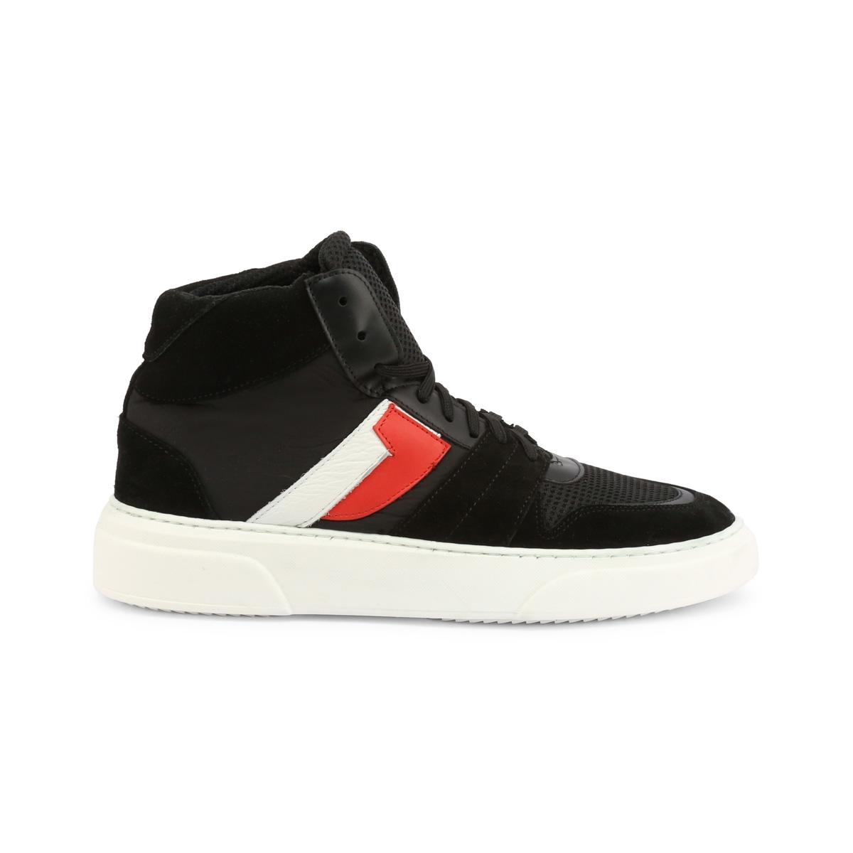Pantofi sport Duca Di Morrone TJ02_CAMOSCIO Negru