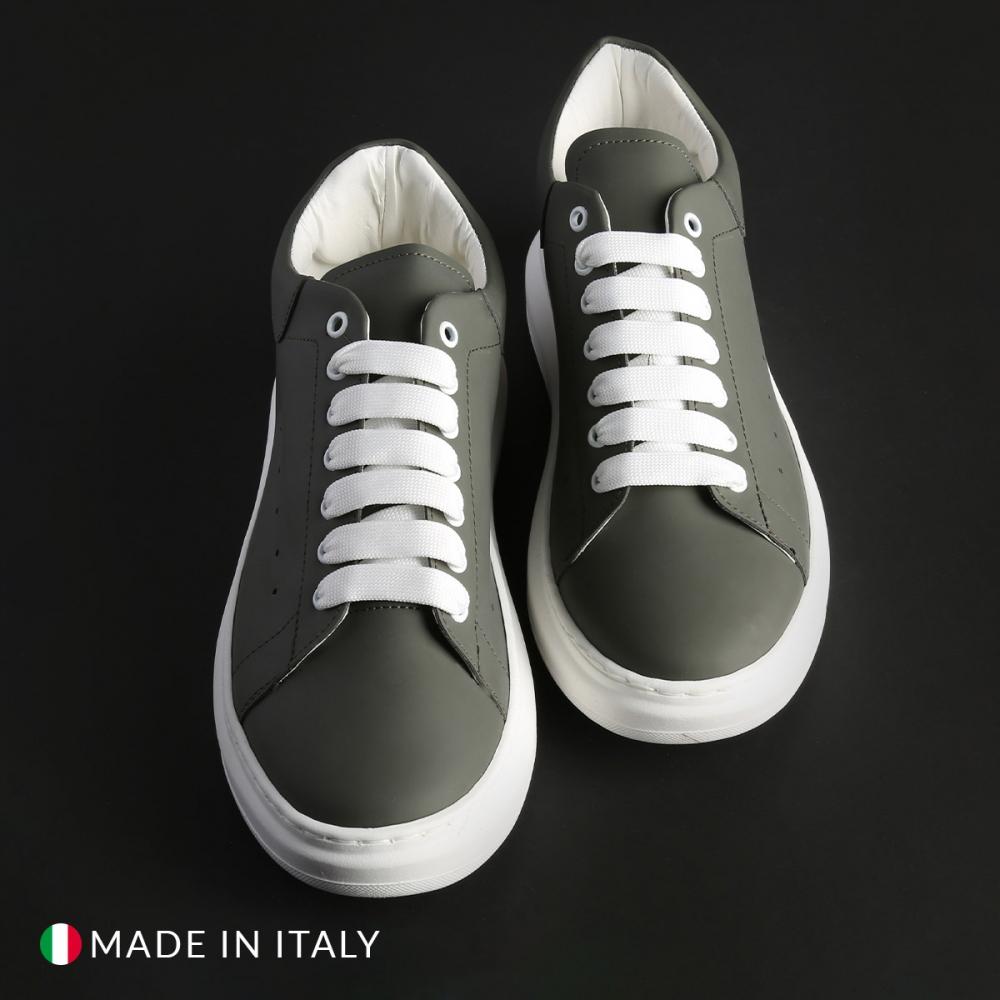 Pantofi sport Duca Di Morrone REY_1_GOMM Verde
