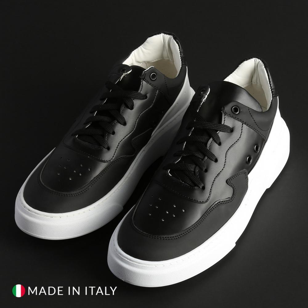Pantofi sport Duca Di Morrone REY_2_GOMMATONAPPA Negru