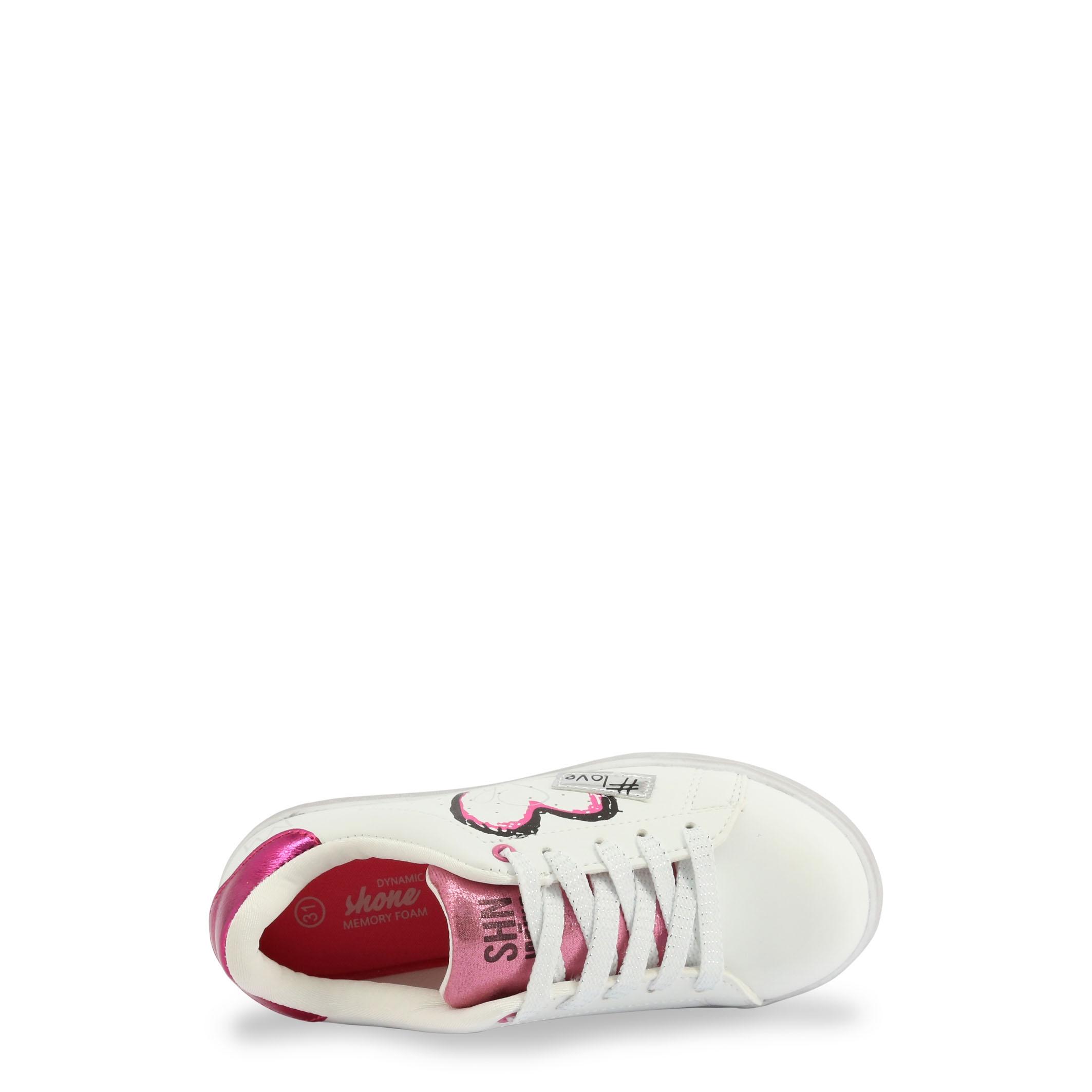 Pantofi sport Shone 15012-125 Alb