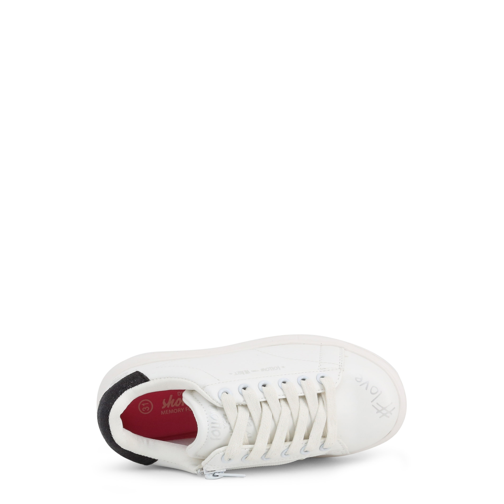 Pantofi sport Shone 1512-102 Alb