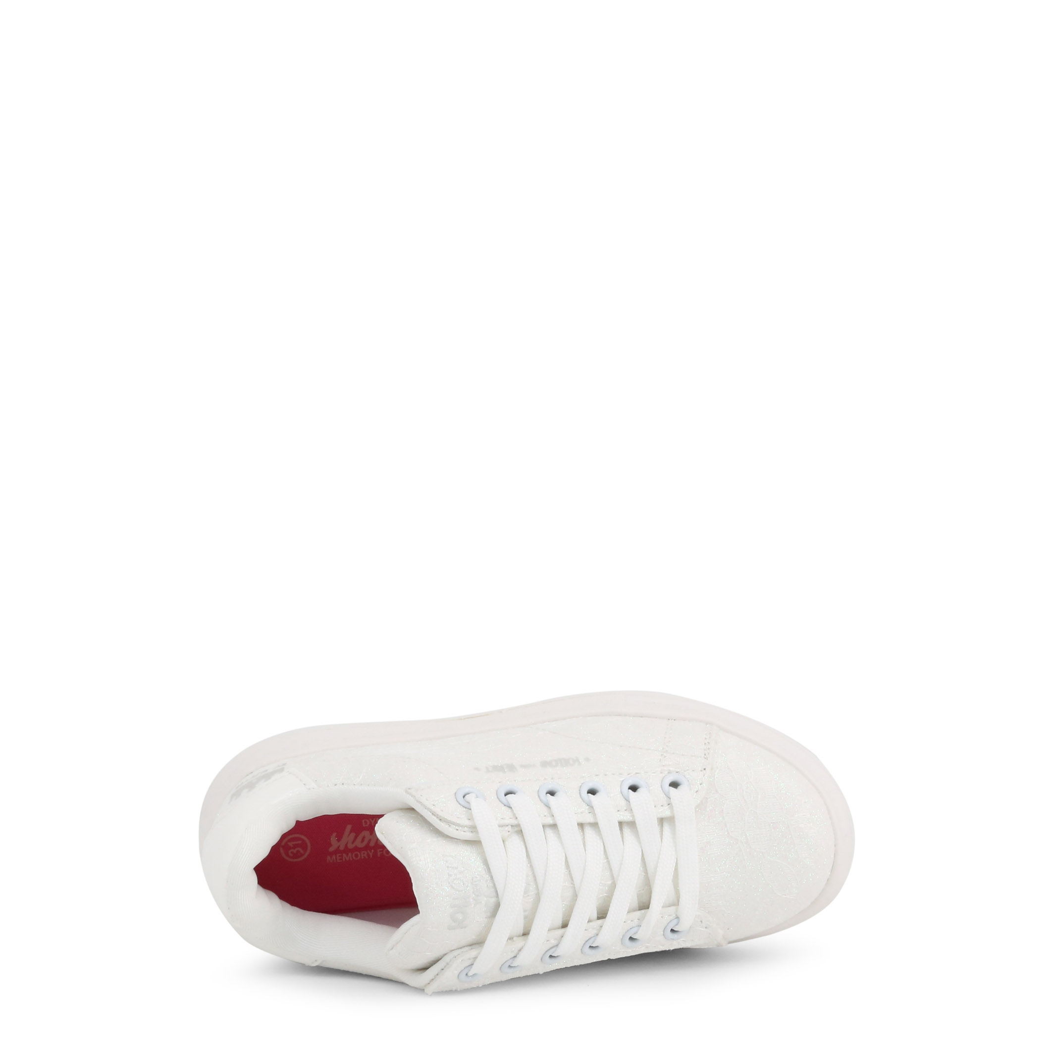 Pantofi sport Shone 1512-105 Alb