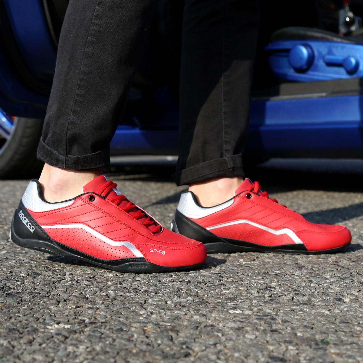 Pantofi sport Sparco SP-F8 Rosu