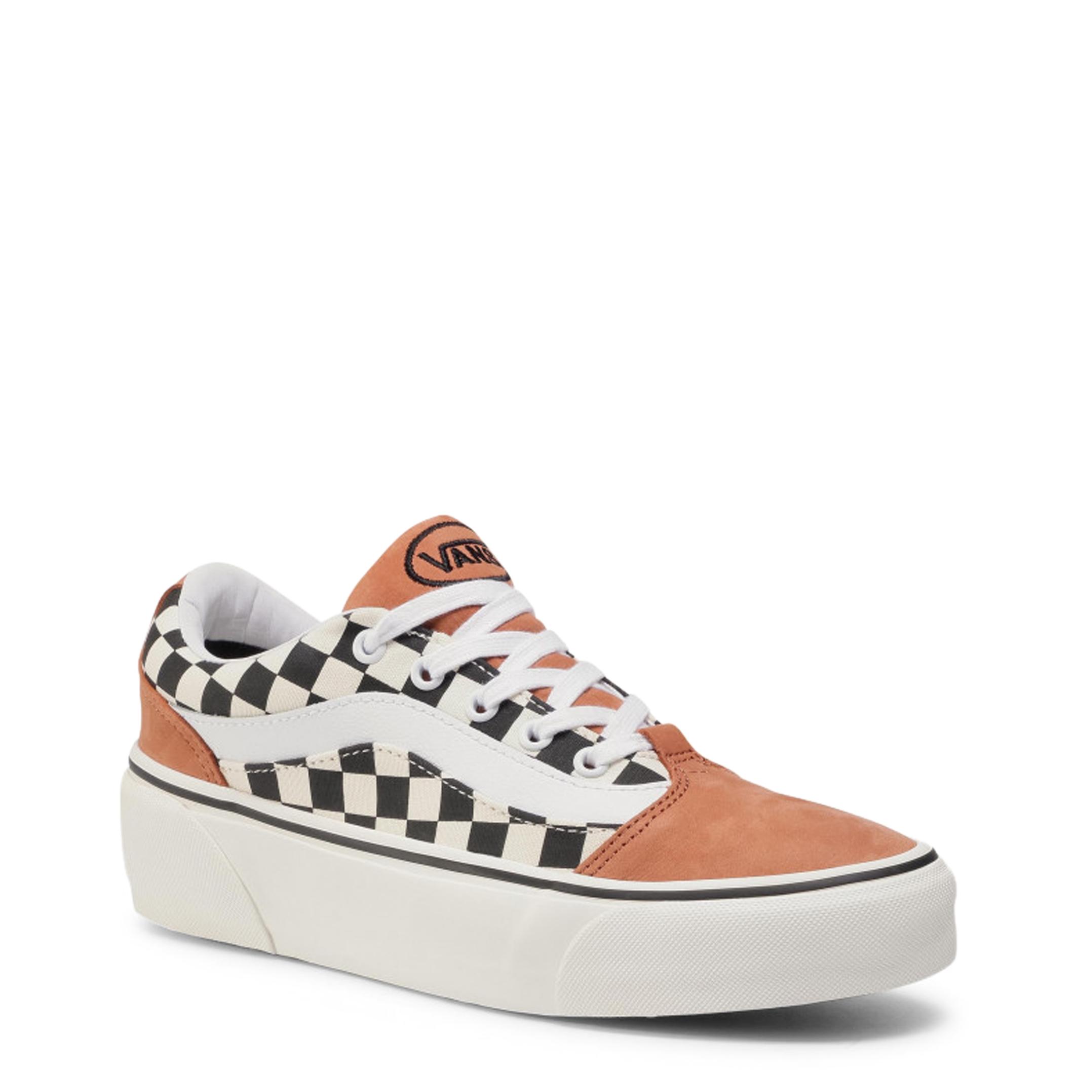 Pantofi sport Vans SHAPE-NI Maro