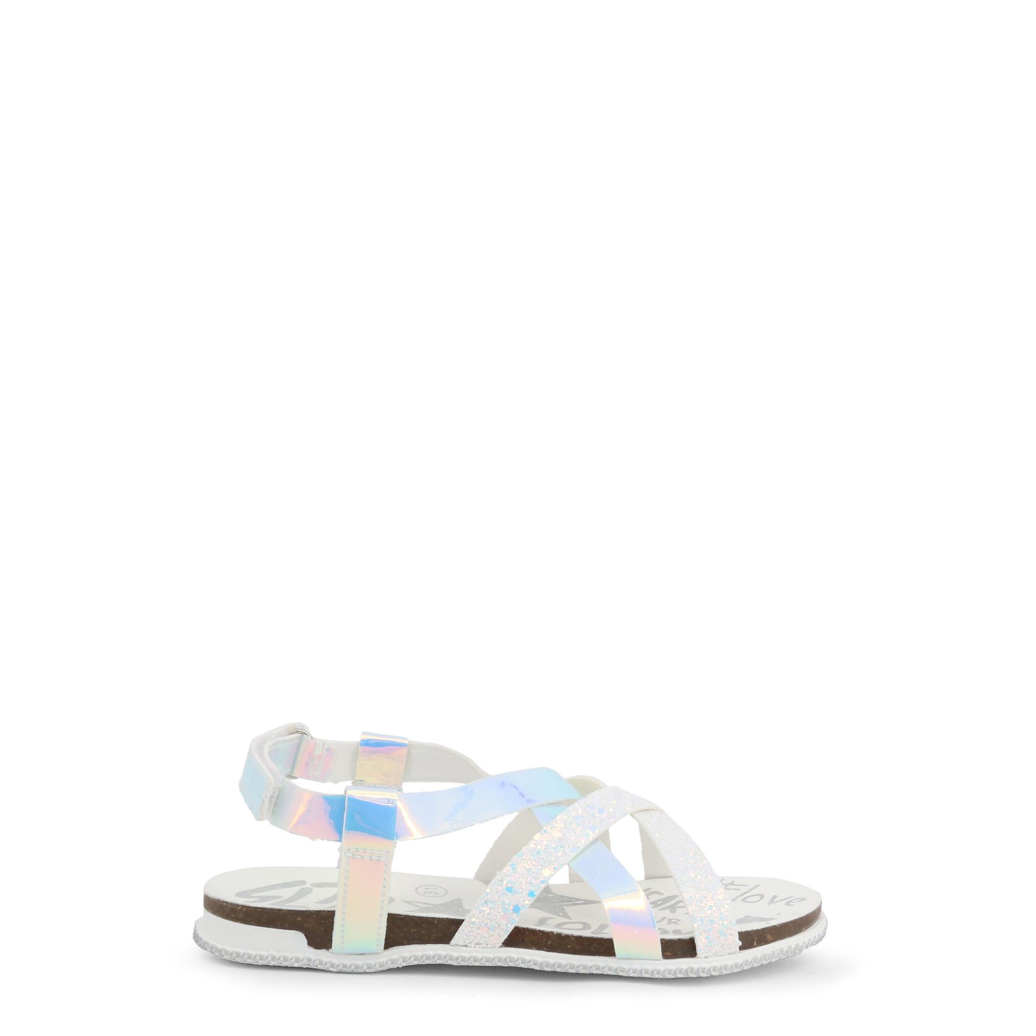 Sandale Shone L6133-032 Alb
