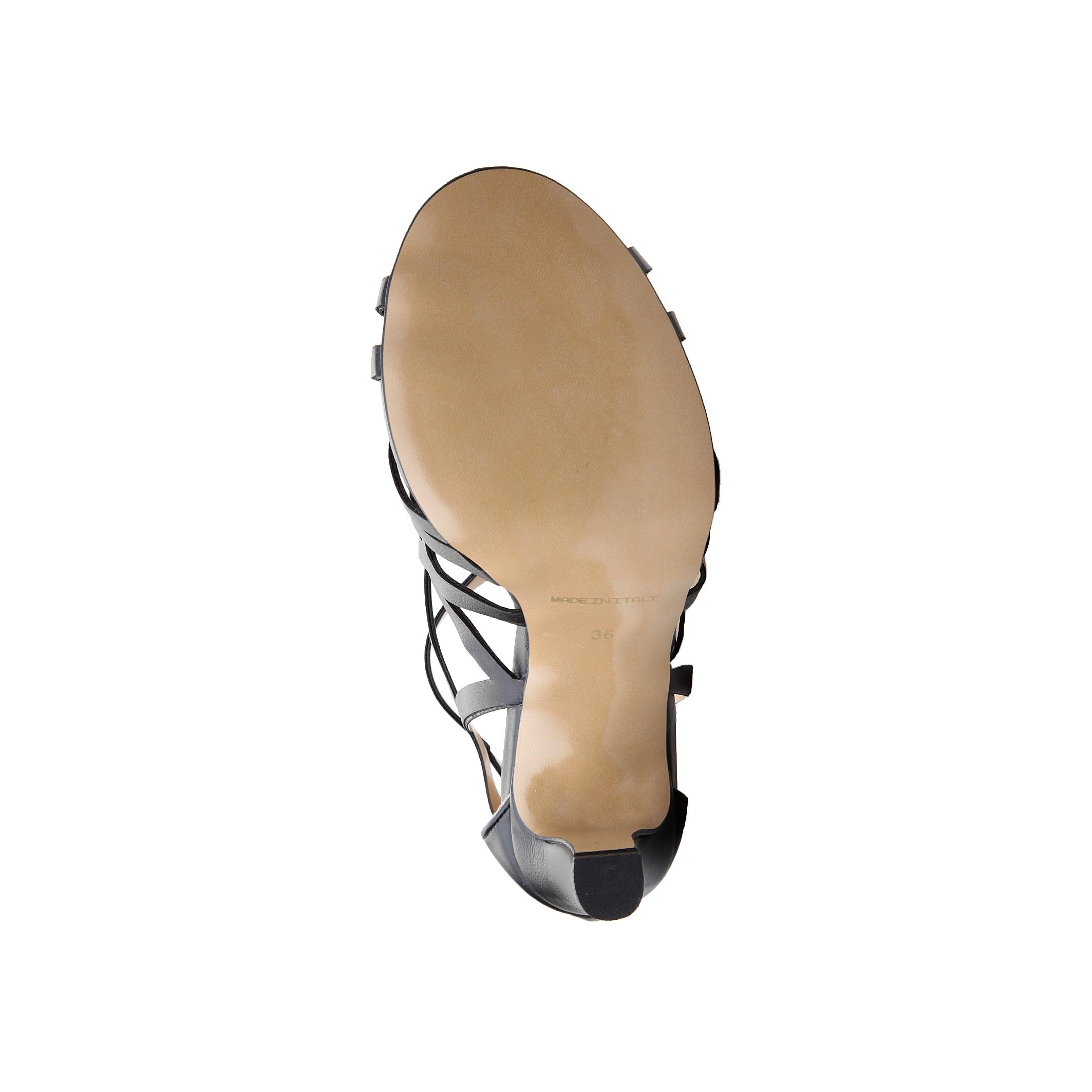 Sandale V 1969 JUSTINE Negru