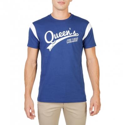Tricouri Oxford University QUEENS-VARSITY-MM Albastru